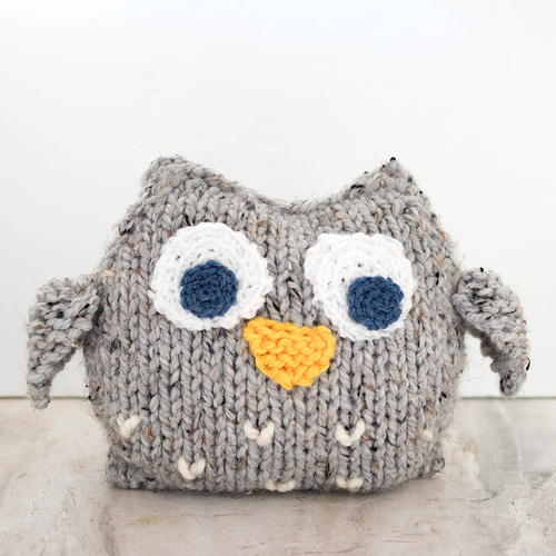 Easy Plush Owl Knitting Pattern Allfreeknitting