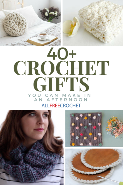 Crochet Gifts 40 Cute Quick Crochet Ideas Allfreecrochet