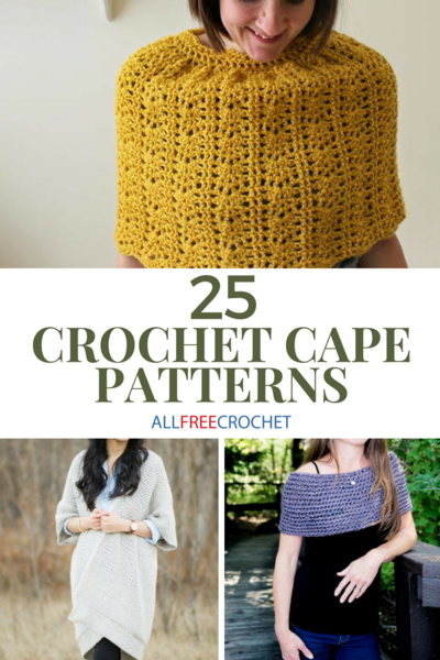 25 Crochet Cape Patterns Free Allfreecrochet