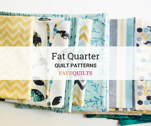 24 Fabulous Fat Quarter Quilt Patterns