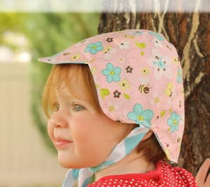 Pretty Petal DIY Baby Hat