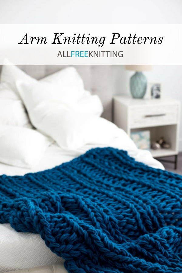 Try Arm Knitting Patterns!