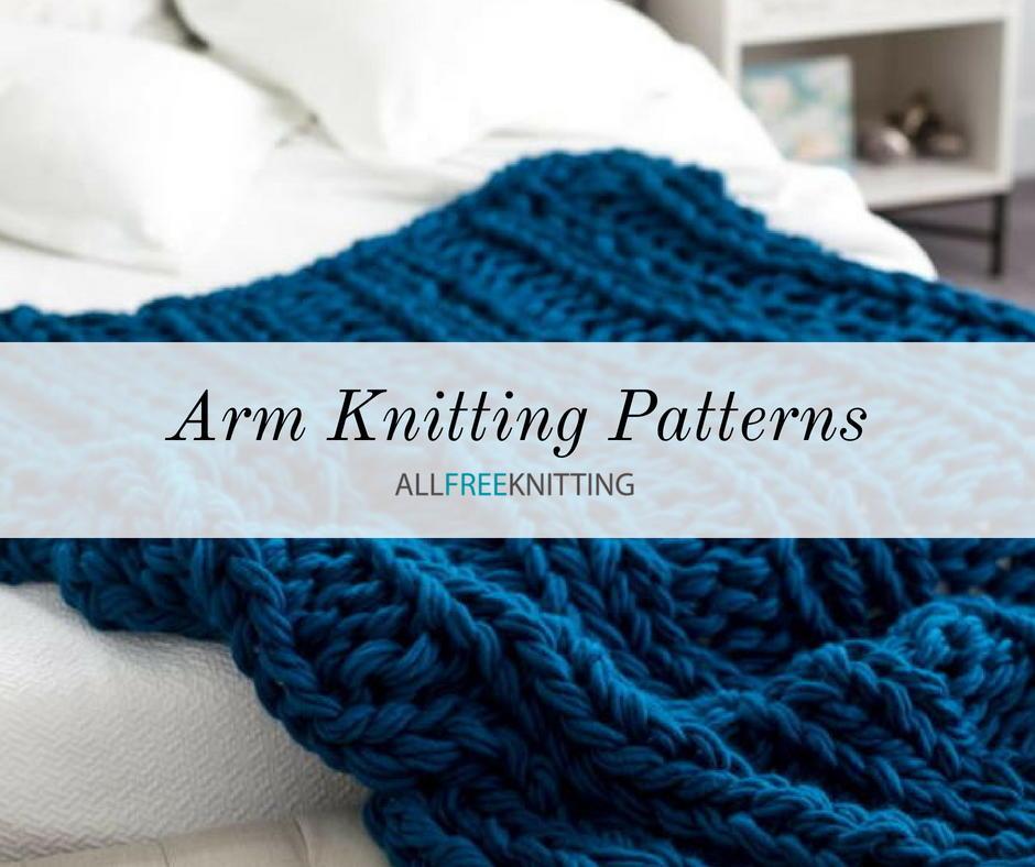 15 Simple Arm Knitting Patterns | AllFreeKnitting.com