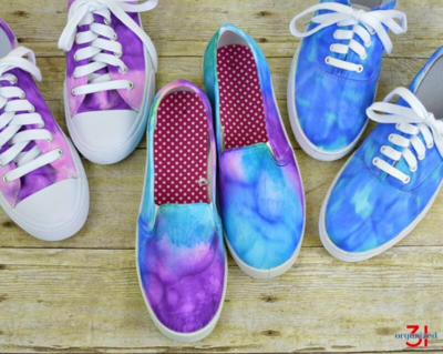 These Shoes Are Tie Dye For