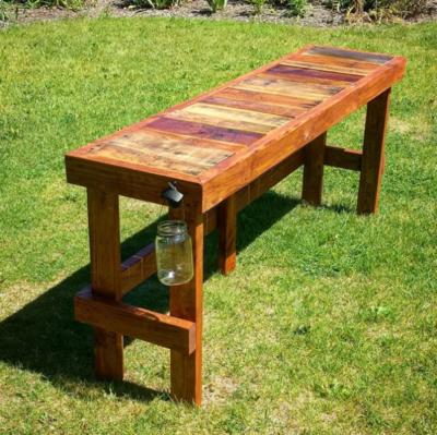 Diy outdoor bar Cinder Block Wood Pallet Diy Outdoor Bar Diy Idea Center Wood Pallet Diy Outdoor Bar Diyideacentercom