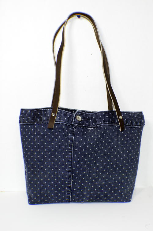 Upcycled Jeans Tote