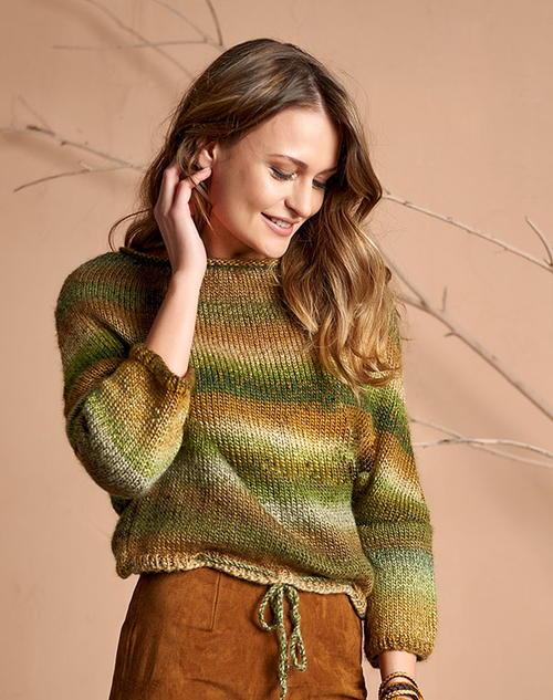 Easy Knitted Sweater Pattern For Women Allfreeknitting