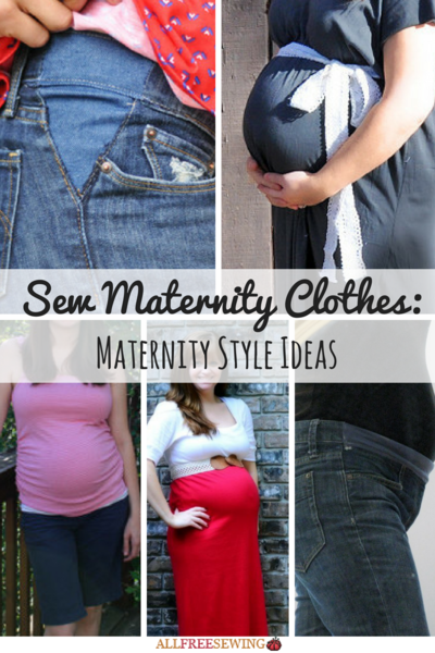 Sew Maternity Clothes 23 Maternity Style Ideas