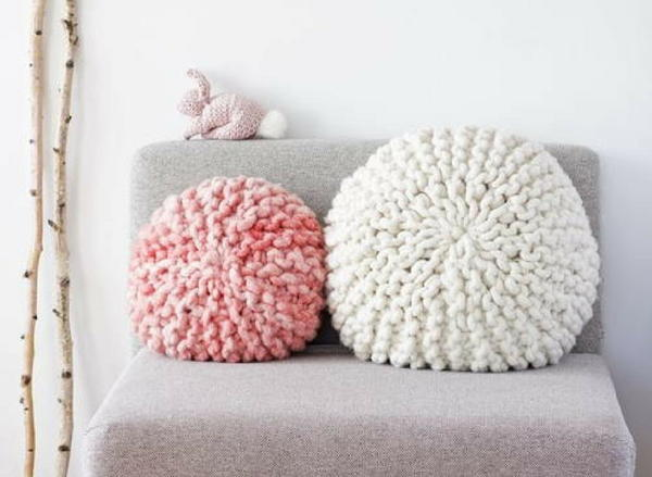 Adorable Super Chunky Pillows
