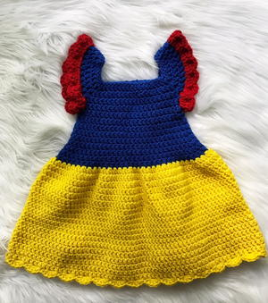 Snow White Princess Baby Dress