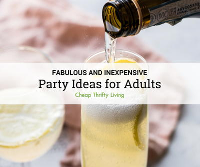 10 inexpensive party ideas for adults cheapthriftyliving com