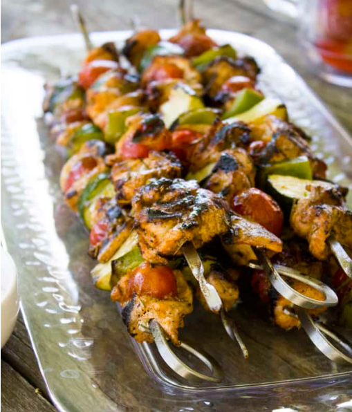 Simple Turkey Kabobs Recipe