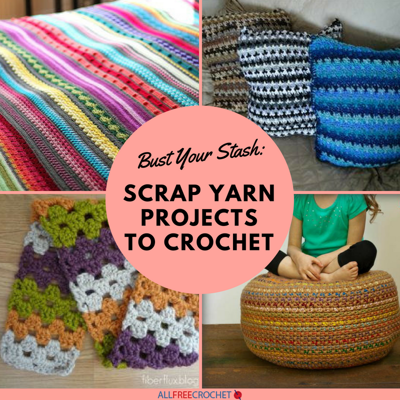 Bust your stash 22 scrap yarn projects to crochet allfreecrochet reheart Choice Image