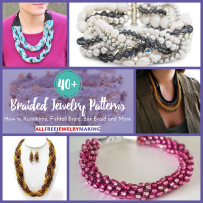 40 Braided Jewelry Patterns How to Kumihimo Fishtail Braid Box Braid and More