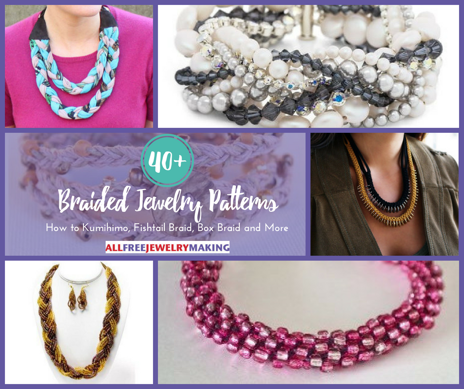 40 braided jewelry patterns how to kumihimo fishtail braid box 40 braided jewelry patterns how to kumihimo fishtail braid box braid and more allfreejewelrymaking fandeluxe Choice Image