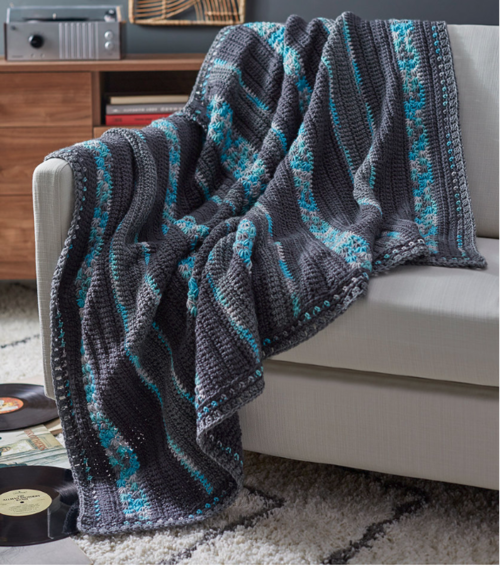 Stars In Your Eyes Free Crochet Afghan Pattern Favecrafts