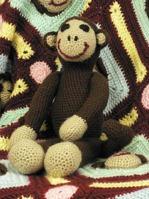 Soft Plush Sock Monkey
