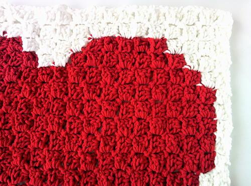 C40C Heart Blanket Pattern AllFreeCrochet Awesome Heart Crochet Pattern