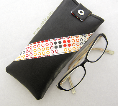 Faux Leather Glasses Case Tutorial