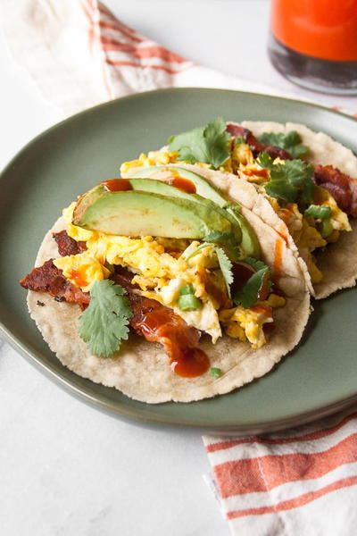 Coconut and Cassava Tortillas Breakfast Tacos!