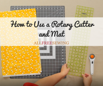 How to Use a Rotary Cutter and Mat
