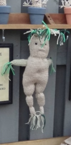 Harry Potter Knit Mandrake