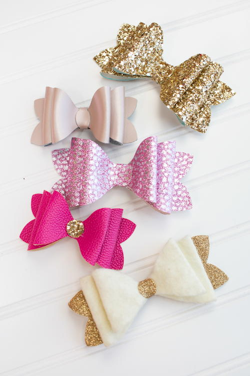 DIY French Stacked Bows