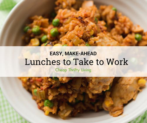 18 Easy Lunches to Take to Work