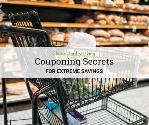 Couponing Secrets for Extreme Savings
