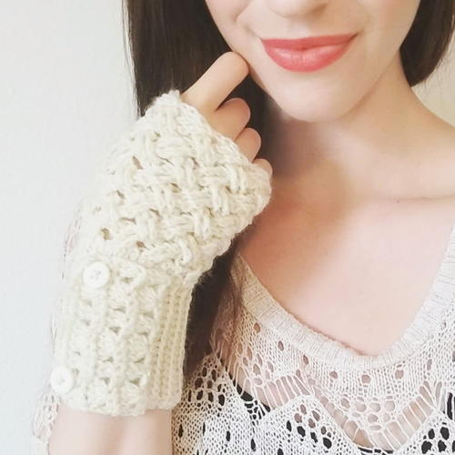The Sophia Fingerless Gloves