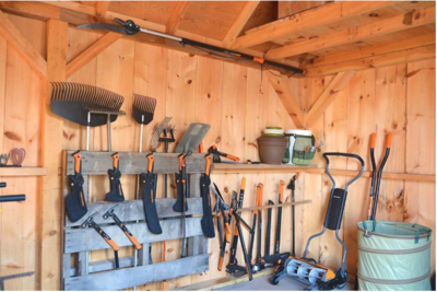 DIY Garage Storage Rack
