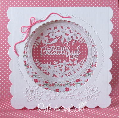Sew Pretty Pinhole Card Tutorial