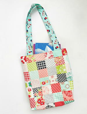 Mini Charm Library Bag