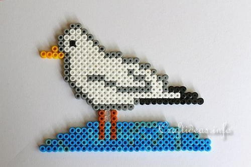 Melting Beads Gull