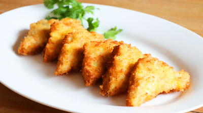 Crispy Chinese Shrimp Toast Recipe
