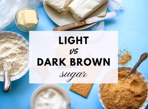 Light vs Dark Brown Sugar