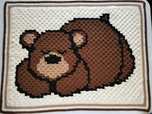Sleep Bear Baby Blanket