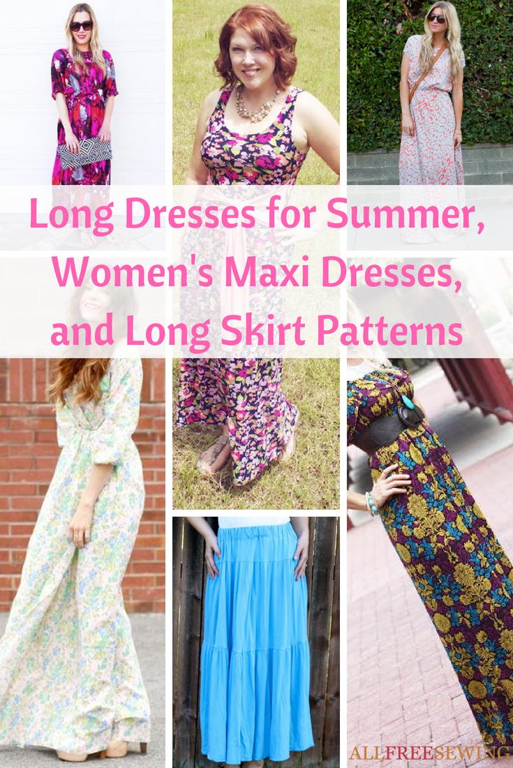 29 Long Dresses for Summer, Women\'s Maxi Dresses, and Long Skirt ...