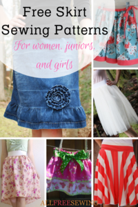 38 Free Skirt Sewing Patterns: How to Make a Skirt Out of Jeans & More