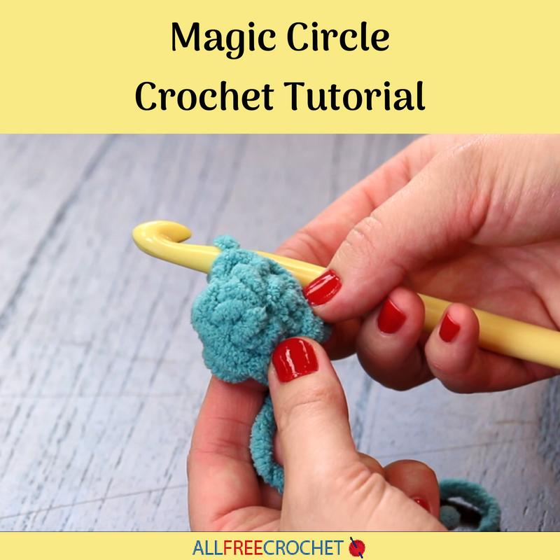 Magic circle crochet tutorial allfreecrochet fandeluxe Image collections