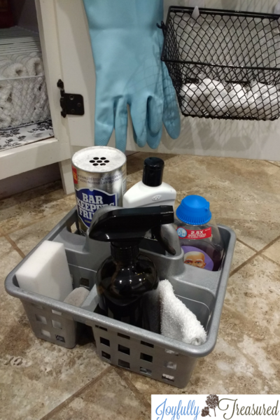 Under the Kitchen SInk Organization with Dollar Tree
