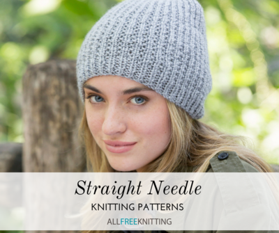 40 Straight Needle Knitting Patterns You Need AllFreeKnitting Fascinating Simple Knit Hat Pattern