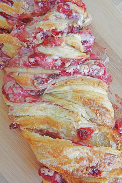 Strawberry Cream Cheese Pastry