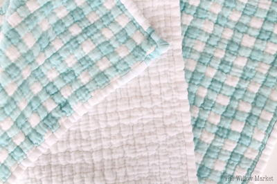 Hand Quilted Cotton Gauze Baby Blanket Allfreesewing Com