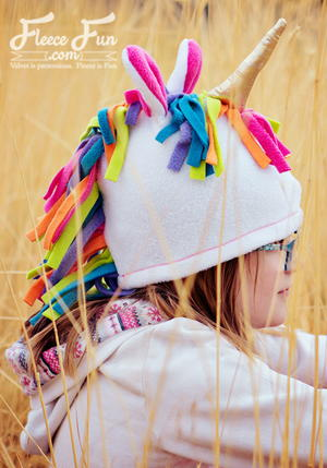 Fleece Unicorn Hat