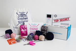 Jimmy Beans Crochet Club Kit Giveaway