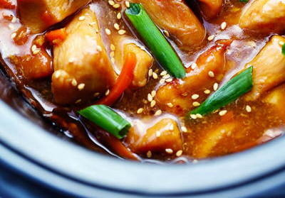 Easy Slow Cooker Mongolian Chicken