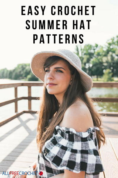 41 Crochet Summer Hat Patterns Easy Crochet Hats Allfreecrochet