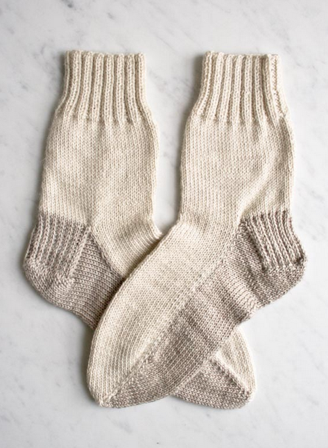 Simple Seamed Socks Allfreeknitting
