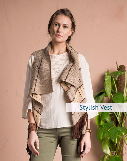 Stylish Vest Knitting Pattern For Women Allfreeknitting